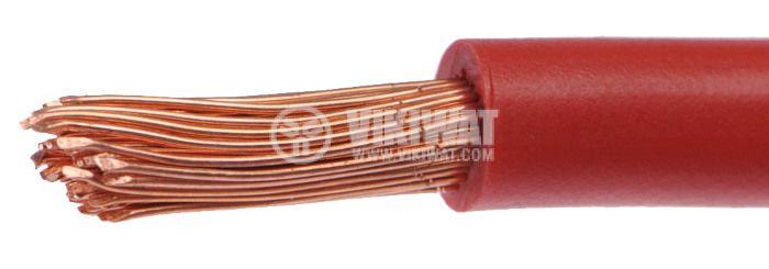 Проводник ПВ-А2 1x16 mm2, червен