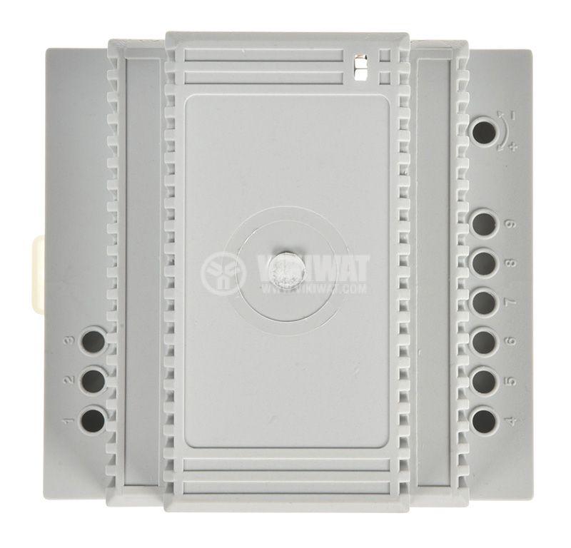 Enclosure Box 5M, 94x68x87mm, gray, DIN rail - 2