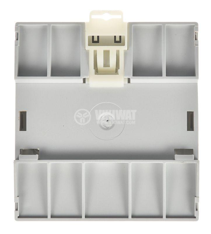 Enclosure Box 5M, 94x68x87mm, gray, DIN rail - 3