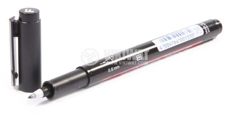 Black marker waterproof 0.6mm - 2
