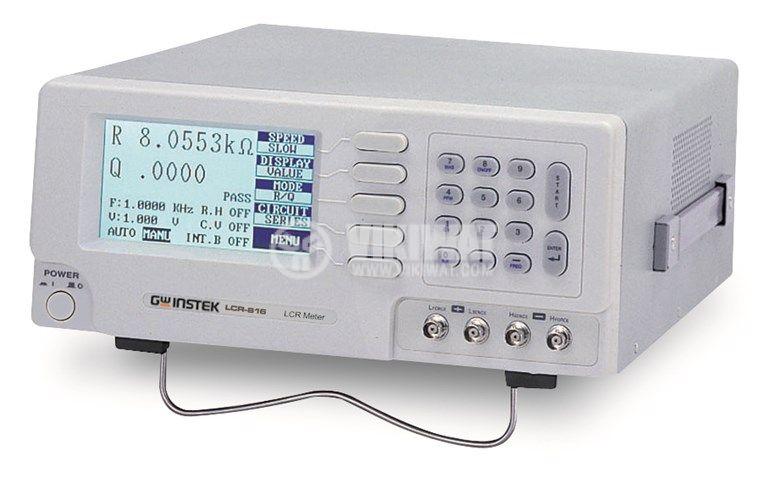 LCR meter LCR816, 100Hz - 2kHz, R/Q, C/D, C/R, L/Q Test Modes - 1