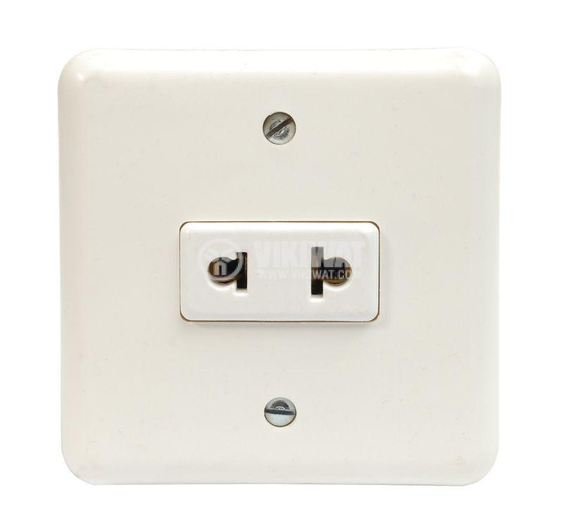 Power Electrical Socket, EU-USA - 1