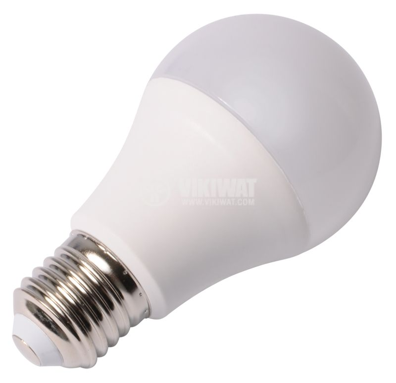 LED лампа 12W, E27, 220VAC, 4200K, неутрално бяла, BA18-1221 - 5