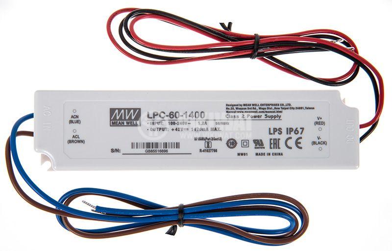 LED захранване LPC-60-1400 - 1