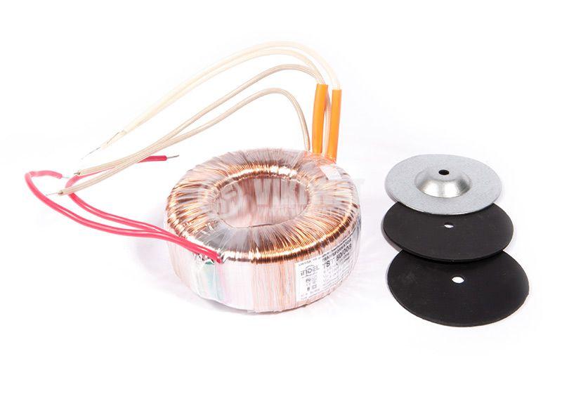 Тороидален трансформатор, INDEL TST 50/008 230/2x17 VAC, 50 VA