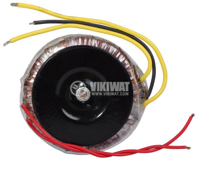 Тороидален трансформатор 230 / 2 х 12 VAC, 50 VA - 1