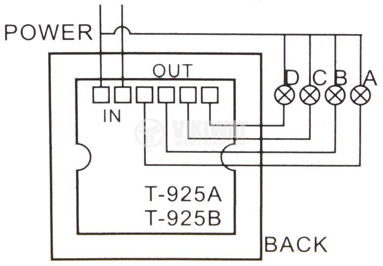 Ключ с дистанционно управление, с четири канала за управление - 3