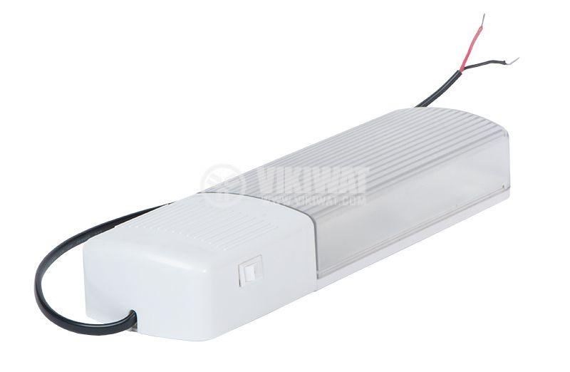 Луминесцентно осветително тяло 12VDC SDC-PL 9W 6400K - 1