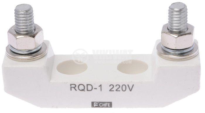 Fuse Holder, RQD-1, 220VAC, 25x80x40mm - 1
