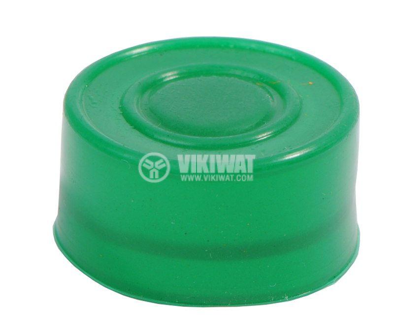 Маншон за бутон LAY-BA-R-G силикон зелен - 1