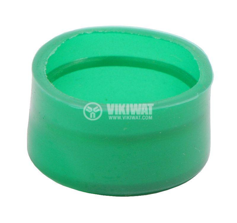 Маншон за бутон LAY-BA-R-G силикон зелен - 2