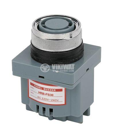 Пиезо сирена, 220 VAC, 80 dB - 1