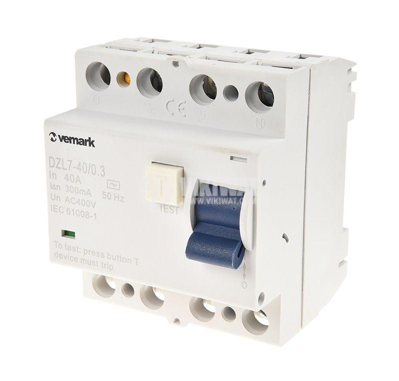 Residual Current Circuit Breaker (RCCB) F362, 40 A, 300 mA - 1
