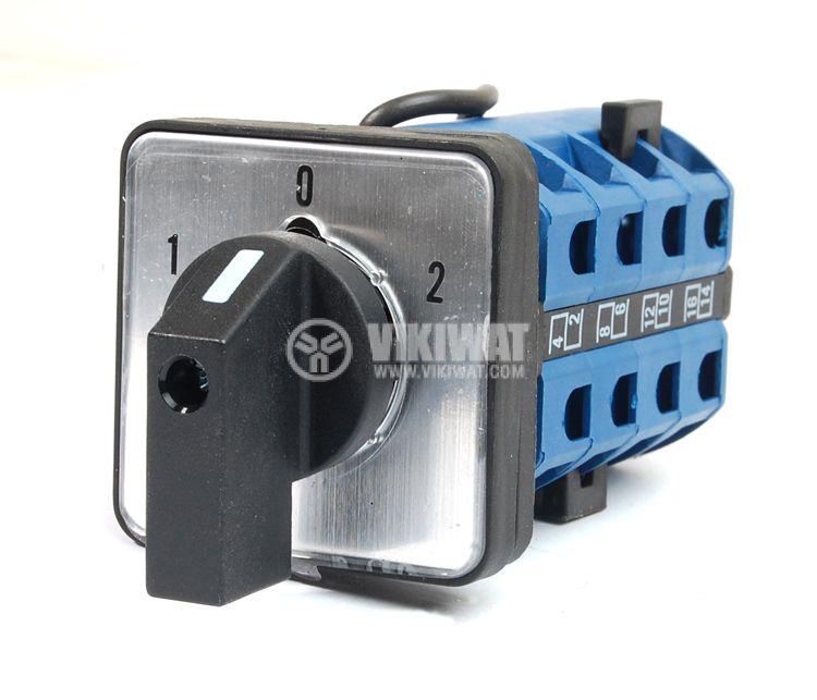 Пакетен електрически прекъсвач (ПЕП) LW26-32FS 1-0-2 M1I, 1-0-2, 220/380 VAC, 32 A   - 1