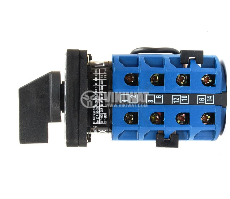 Пакетен електрически прекъсвач (ПЕП) LW26-32FS 1-0-2 M1I, 1-0-2, 220/380 VAC, 32 A   - 2