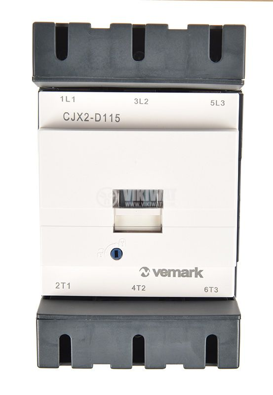 Контактор, трифазен, бобина 220VАC, 3PST - 3NO, 115A, CJX2-D115 - 3