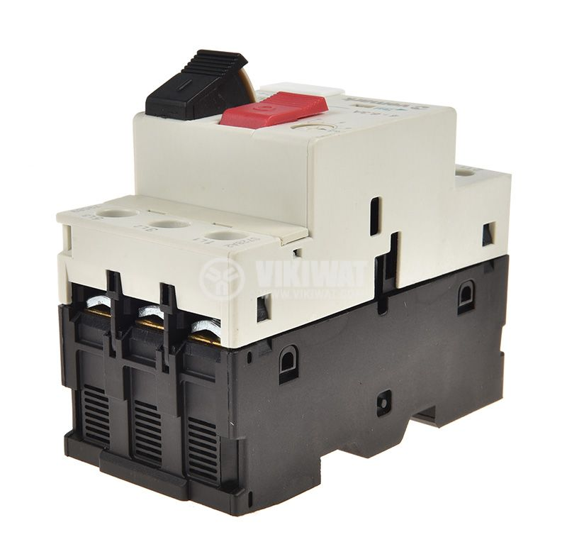 Motor protection circuit breaker GV2-М10, three-phase, 4-6.3 A - 4