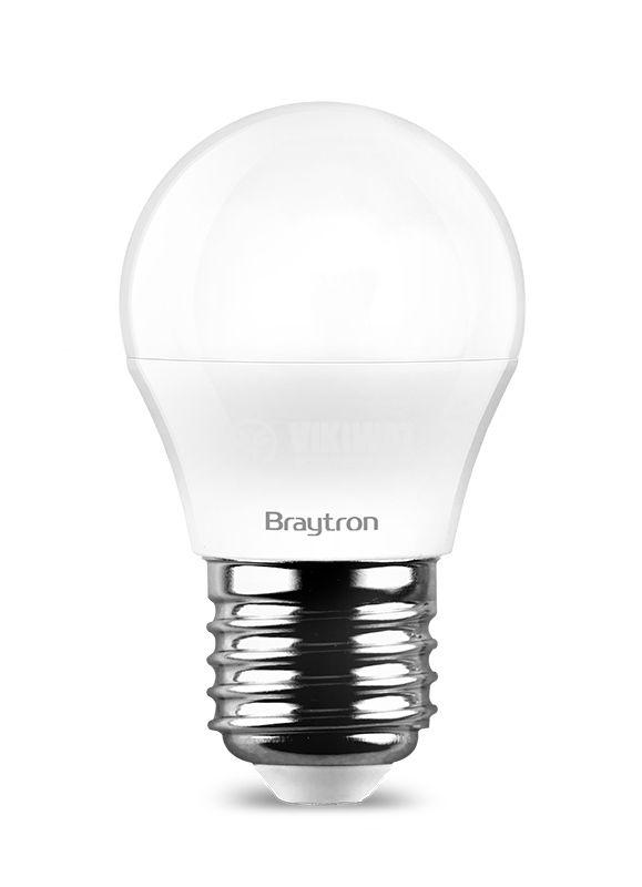 LED лампа 7W, 220VAC, E27, 560lm, студено бяла, BA11-00723 - 3