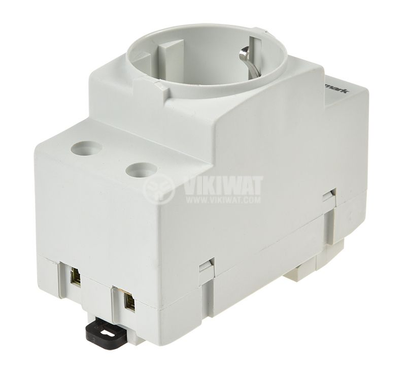 Power electrical socket for DIN rail 250VAC - 2