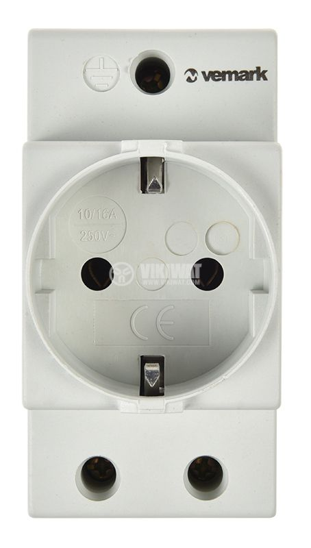 Power electrical socket for DIN rail - 4