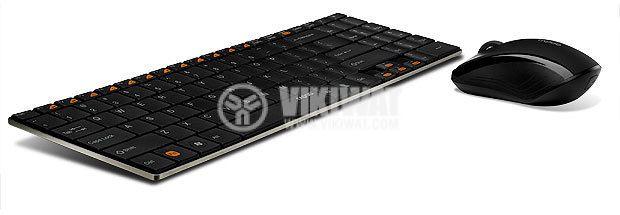 Клавиатура whireless с мишка изключително тънка - 3