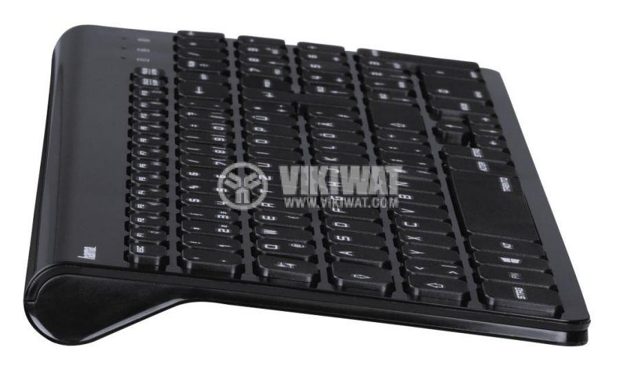 Бeзжични мишка и клавиатура за компютър лаптоп - 4
