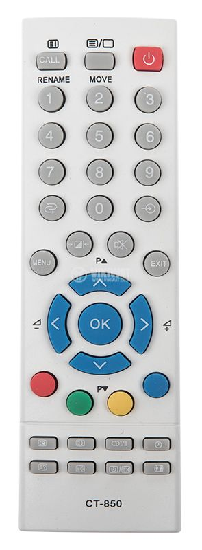 Remote control TOSHIBA CT-850 - 1