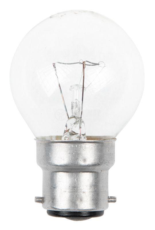 Лампа с нажежаема спирала, B22, 60W, 220V - 1