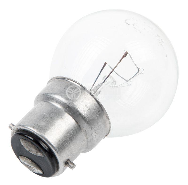 Лампа с нажежаема спирала, B22, 60W, 220V - 2