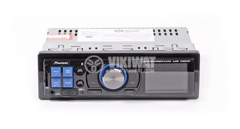 RADIO MP3 PLAYER SCM261BT, 4X40W, USB, AUX, SD card - 1