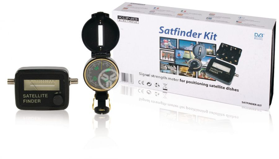 Satellite finder 950-2400 MHz, 83 dB - 1