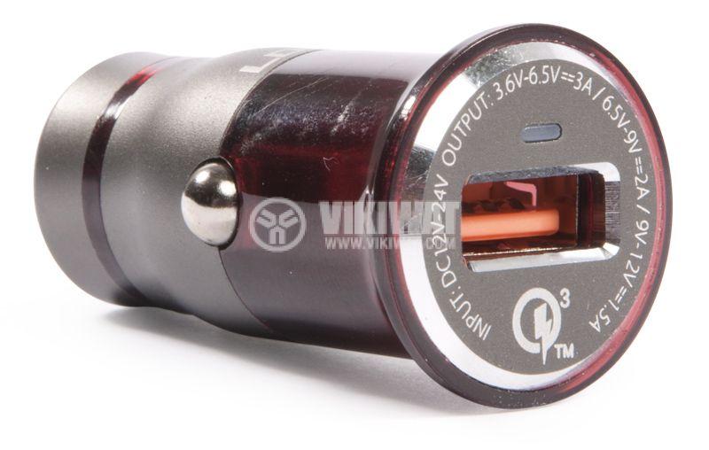 Зарядно устройство за кола, LDNIO C304Q, с Micro USB - 1