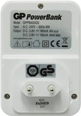 Switching charching device GP Power Bank PB420 for accumulator batteries GP Power Bank NiMH, AA/AAA size - 2