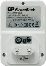 Импулсно зарядно устройство GP Power Bank PB420 за акумулаторни батерии GP Power Bank NiMH размери AA/AAA - 2