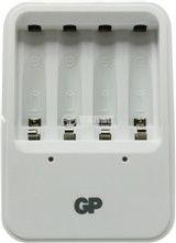 Импулсно зарядно устройство GP Power Bank PB420 за акумулаторни батерии GP Power Bank NiMH размери AA/AAA - 3