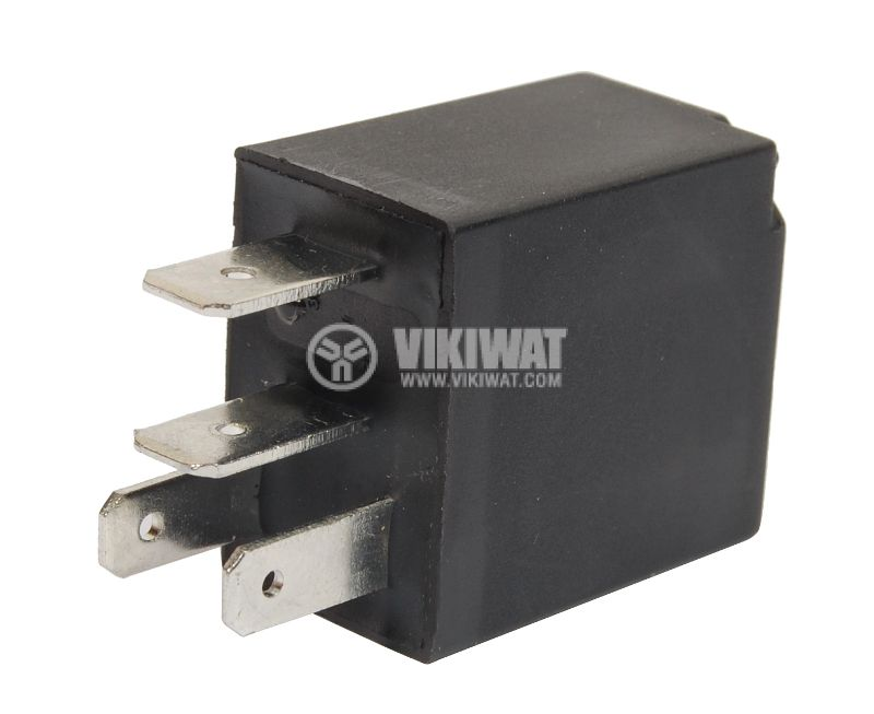 Electromagnetic relay AS408  coil 12VDC 14VDC/30A SPST NO - 2