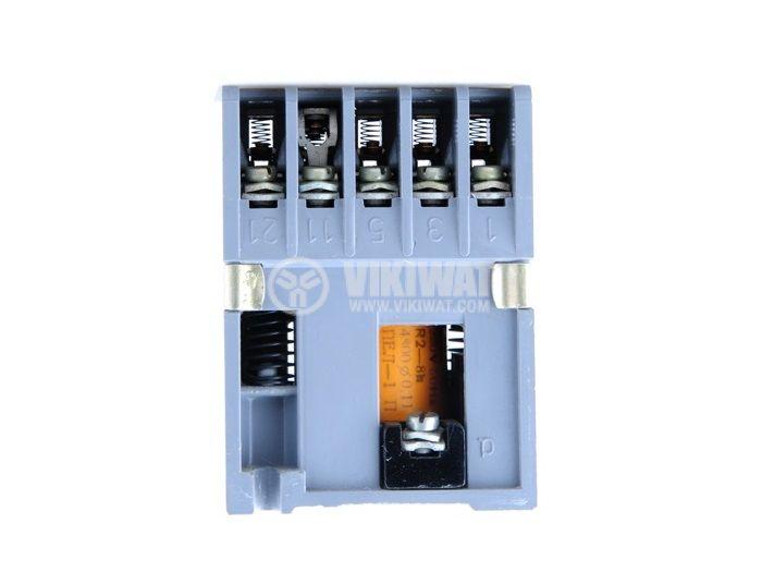 Контактор, трифазен, бобина 36VАC, 5PST - 4NO+1NC, 6A, КВ-0 - 1
