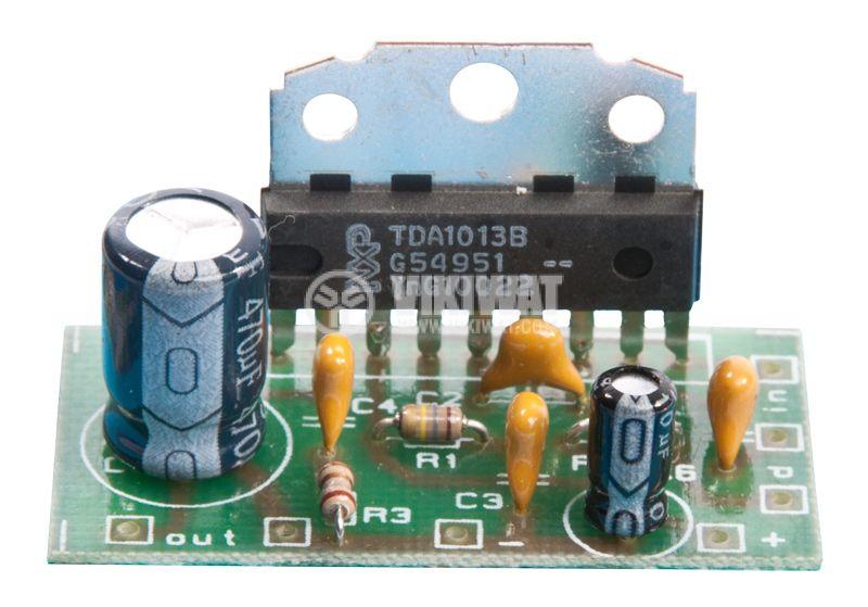 Audio amplifier 2.5 W for TV - 2