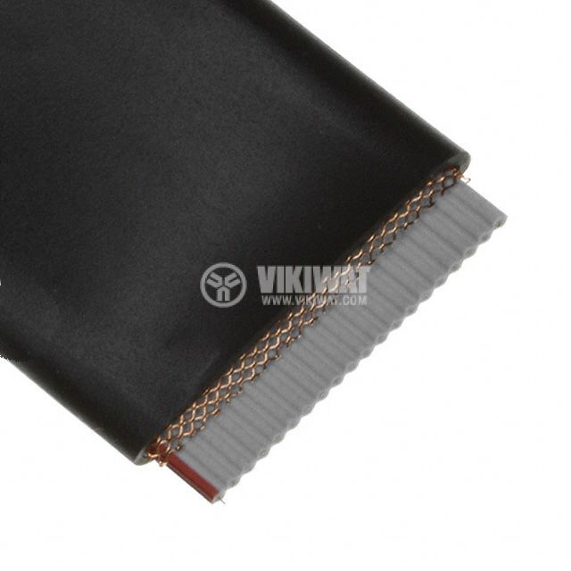 Multicore flat cable 20x0.08mm2, shielded