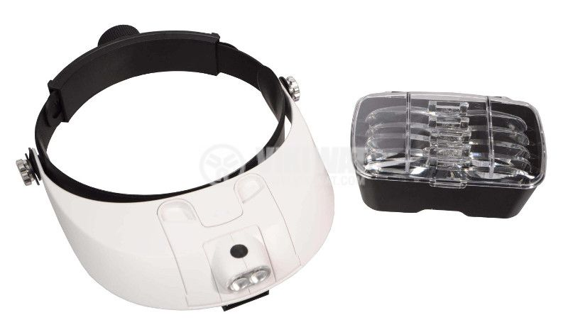 Head magnifier with light MG81001-G, magnification 1.5X to 6.0X - 1