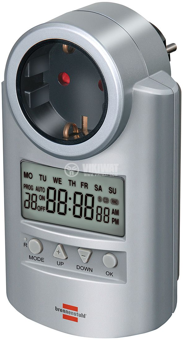 Седмичен електронен таймер DT - V2, 16А, 230VAC - 1