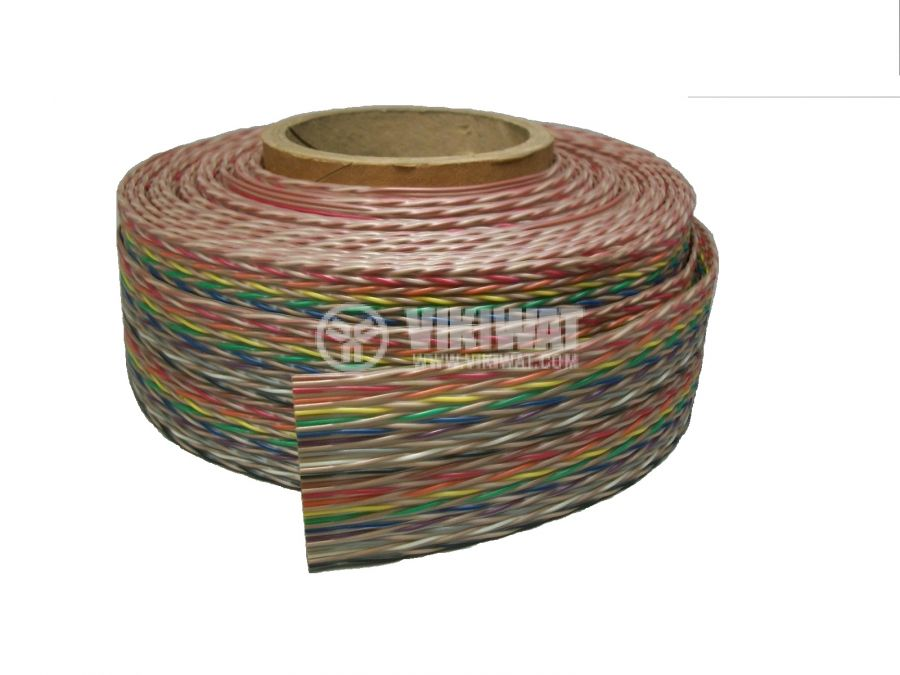 Лентов кабел ЛМПВГ 50x0.12mm
