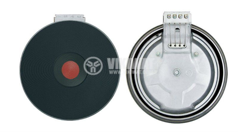Heating plate 1500W, 230V, D155mm - 1
