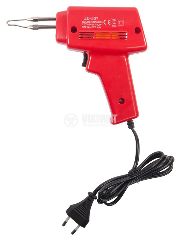 Inductive soldering iron, Quick Heat-up, 100W - 1