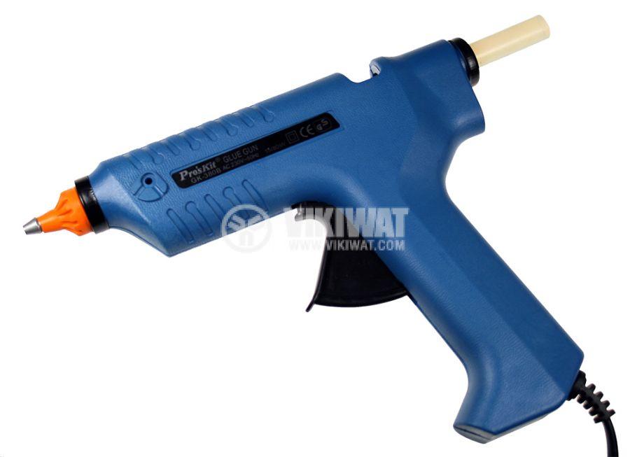 Пистолет за топъл силикон, GK-380B, 220VAC, 15(80)W - 1