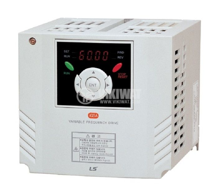 Frequency inverter SV008IG5A-4, 380VAC, three-phase motor control 0.75kW - 1