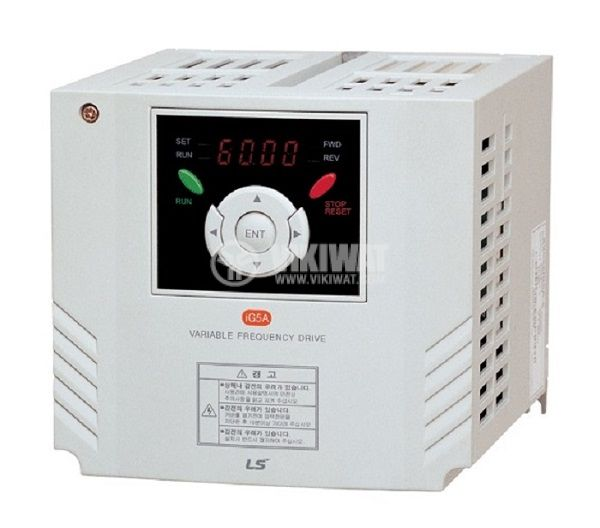 Frequency inverter SV040IG5A-4, 380VAC, three-phase motor control 4kW - 1