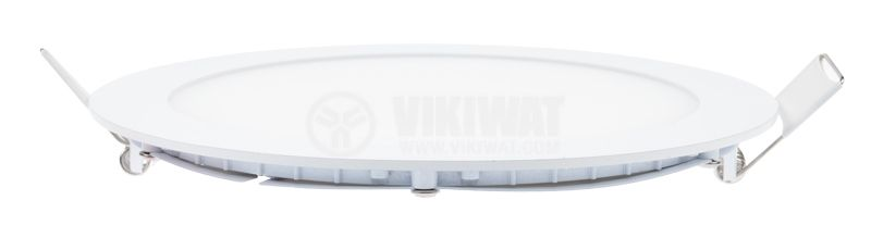 LED panel 18W, 220VAC, 3000K, warm white, Ф224mm, BP01-31800 - 4