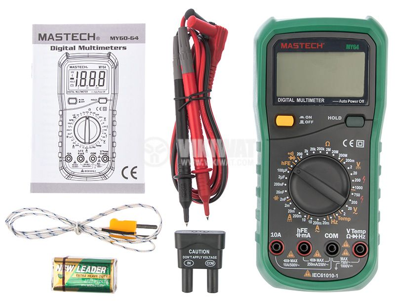Digital Multimeter MY64 - 2