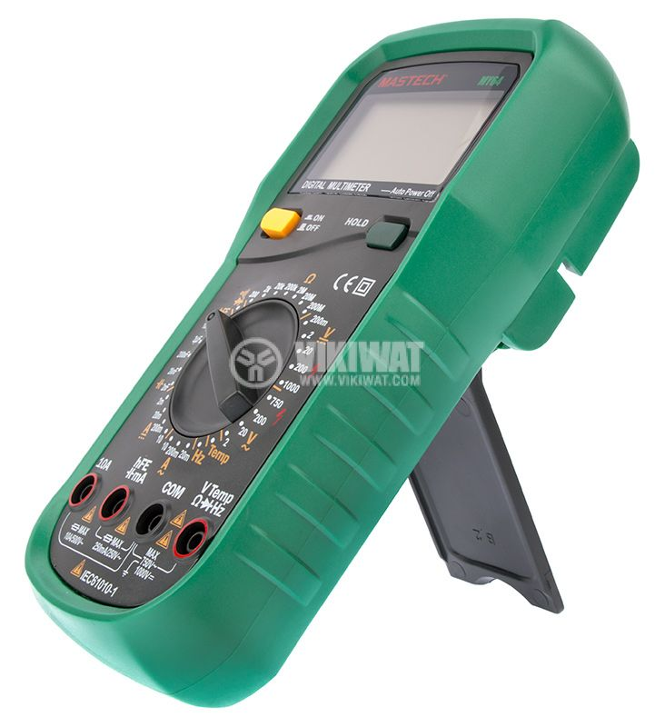Digital Multimeter MY64, LCD (2000), Vdc, Vac, Adc, Aac, Ohm, F, °C - 5
